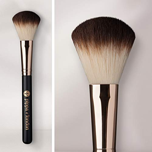 Studio FX Round Blush Brush by Pippa of London  3In1 Cheek Makeup Brush  Sculpting Brush Perfect For Applying Blush Highlighter and Bronzer  Soft amp Absorbent Cosmetic Tool For Face