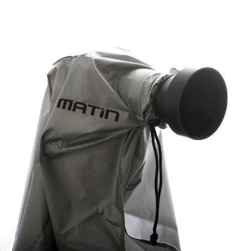 Matin M-7097 (L) Digital Rain Cover Regenschutzhülle für DSLR oder Systemkamera mit Objektiv bis 400 mm Gesamtlänge