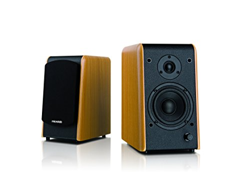 Microlab Aktivbox B77 2.0 PC-Lautsprecher Holz
