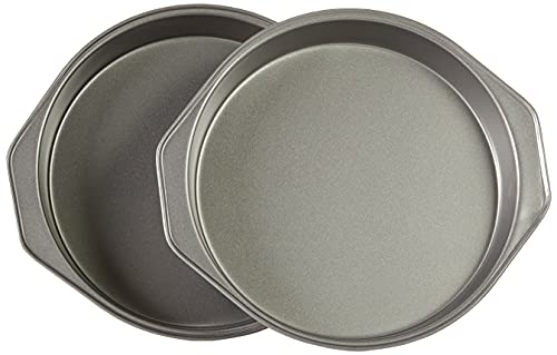 Amazon Basics Nonstick Round Baking Cake Pan, 9 Inch, Set of 2