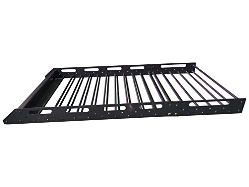 MPH Production Universal Roof Rack for Truck (Cargo Car Top Luggage Carrier Basket Traveling SUV...