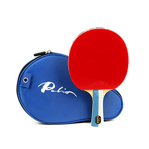 Palio Emerge Table Tennis Bat | Palio Range featuring a Hadou rubber | Best Table Tennis Bat for Medium to High Table Tennis Level | ITTF Approved Bat