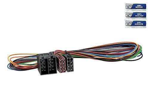 Radioanschlusskabel Verlängerung ISO -> ISO 1 Meter