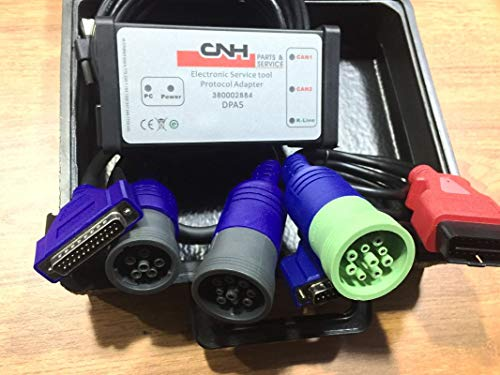 CNH Est DPA 5 Diagnostic Kit & Software for New Holland Case Steyr Kobe-LCO Flexi-Coil