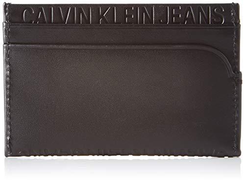 Calvin Klein Logo Pop Cardholder - Borse a spalla Uomo, Nero (Infinite Black), 1x1x1 cm (W x H L)