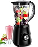 Smoothie Blenders for kitchen, Easy Ice Crushing Blenders for Smoothies & Frozen Fruit with 2 Speeds...