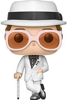 Funko POP Rocks Elton John Figuras de acción de juguete, Estándar