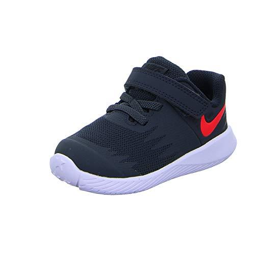 Nike Star Runner (TDV) - Zapatillas de Atletismo para Niños, Anthracite/Red Orbit/Black, 23.5 EU