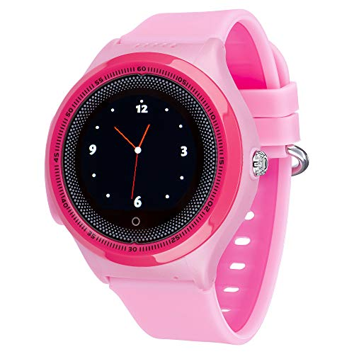 JBC Kinder GPS Uhr   Smart Watch   SOS Telefon   GPSTracker Ohne Abhörfunktion (Pink)
