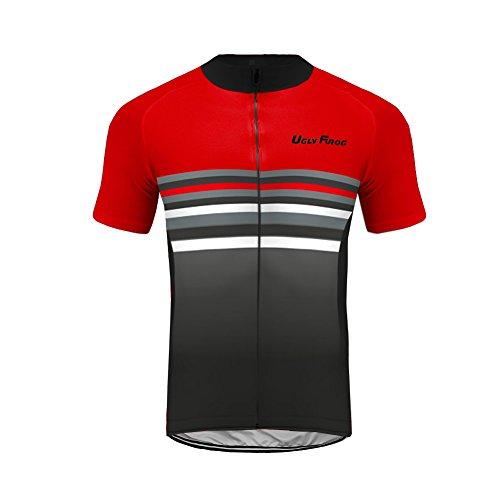 Uglyfrog Ciclismo Abbigliamento Uomo Ciclismo Magliette Manica Corta Camicia Top Estivo da Bici WLDXMZ08