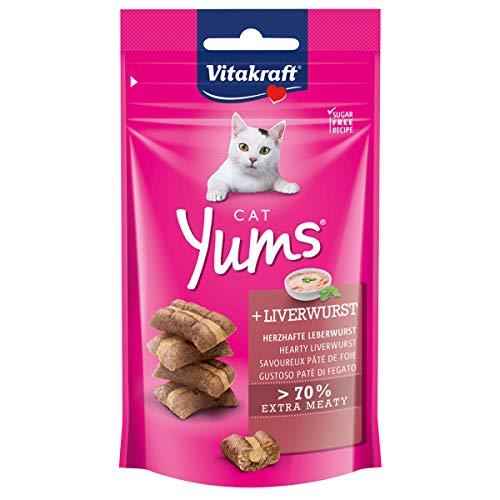 Vitakraft - Katzenüberraschung Snacks 4St. a 40g Cat YUMS Leberwurst (68,44 € /kg)