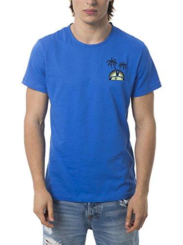Just Cavalli Beachwear Camiseta Manga Corta F44 Azul Royal ES 52