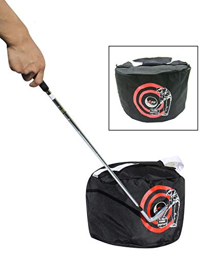 New Golf Swing Training Aids Golf Contact Power Smash Bag Black Golf Impact Swing Trainer