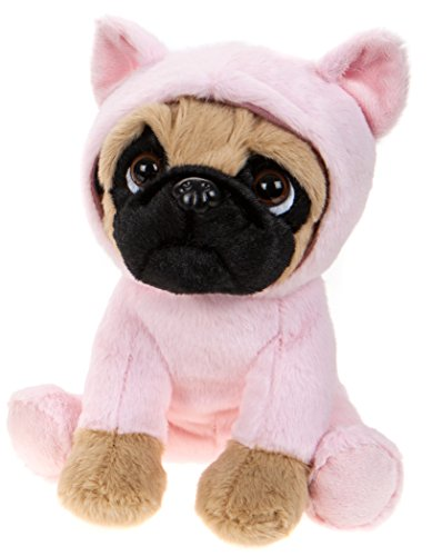Lashuma - Perro de peluche con disfraces de animales (20 cm