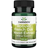 Swanson Robuvit French Oak Wood Extract 200 Milligrams 30 Veg Capsules