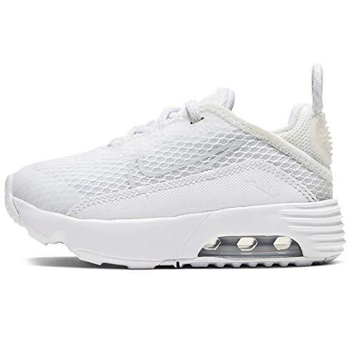 Nike Air MAX 2090 (TD), Zapatillas Deportivas Unisex niños, White White Wolf Grey Pure Platinum White, 18.5 EU