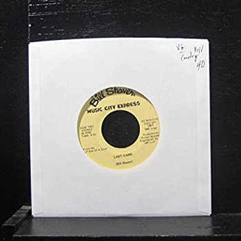 Bill Shaver - Last Game / Tonight s The Night - 7  Vinyl 45 Record