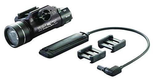 Streamlight High Lumen Rail Mounted Tactical Light, Black, Light Only w/Long Gun Kit - 69262