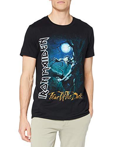 Collectors Mine Fear of The Dark Tree Sprite Camiseta, Negro, S para Hombre
