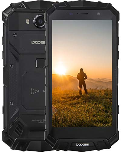 DOOGEE S60 (2020) Smartphone robusto Octa-Core, Smartphone 4G IP68 Antiurto Dual SIM 6 GB + 64 GB, MTK Helio P25 5,2 pollici 5580 mAh Cellulare Android 8.1, Fotocamera 21.0MP