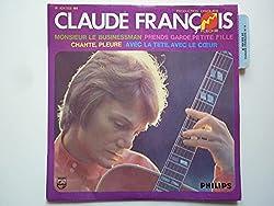 Claude François 45Tours EP vinyle Monsieur Le Businessman / Avec La Tête Avec Le Coeur mint