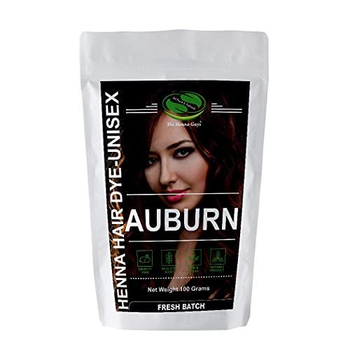 Coloration cheveux auburn
