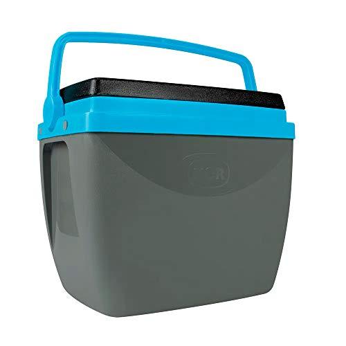 Caixa Térmica 34L Mor Cinza com Azul