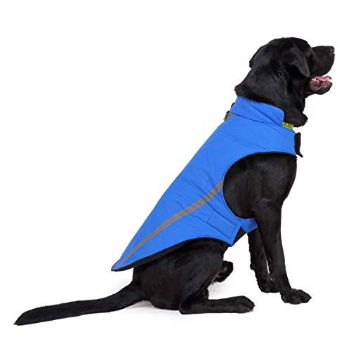 Dog Jacket - Winter Jacket for Dogs Soft Fleece Lining Extra Warm - Pet Coat for Hiking Reflective Lightweight Dog Vest for Small, Medium, Large Dogs Easy On & Off Outdoor Sports Camping Pet Jacket