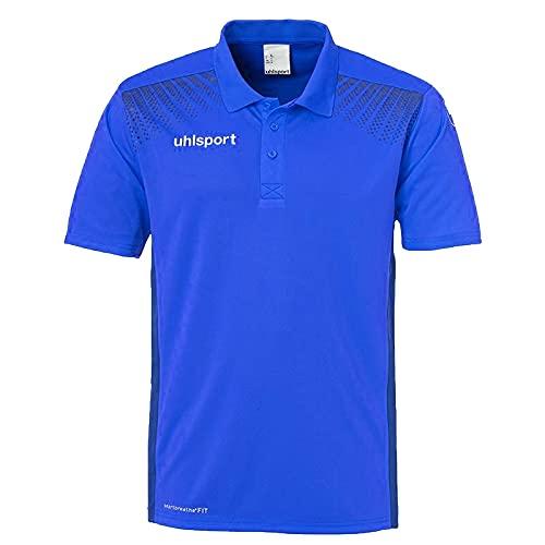 uhlsport 100214403 T-Shirt Homme, Azur Bleu/Marine, FR : 3XL (Taille Fabricant : XXXL)
