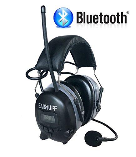 2017 DS-Alert EARMUFF dynamischer 31dB Gehörschutz mit BLUETOOTH und Surround Umgebungswahrnehmung - 3