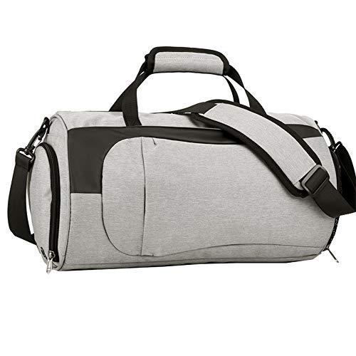 WJQ Sport Sporttasche Kapazität Reisetasche Zylinder Nass Tasche Trockene und nasse Separation Schuhe Reiserucksack Verschleißfest Wasserdicht Leicht für alle Gelegenheiten