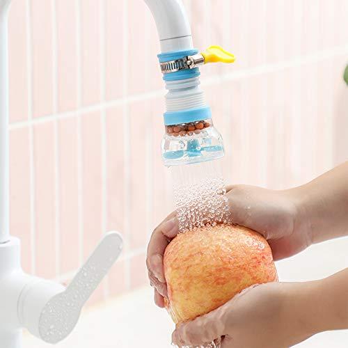 Extensor de grifo para niños pequeños, a prueba de salpicaduras, grifo de cocina, grifo de filtro de agua para fregadero