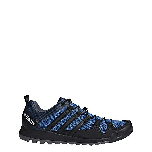 adidas Herren Terrex Solo Trekking- & Wanderhalbschuhe, Blau (Belazu/Negbás/Tinley 000), 42 2/3 EU