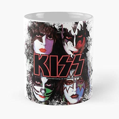 Band Art All Nite Kiss Fanart Fan Roll The N and Music Best 11 oz Kaffeebecher - Nespresso Tassen Kaffee Motive