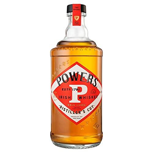 John Powers Gold Label Irish Whiskey   Außergewöhnlicher Blended Irish Whisky Aus Single Pot Still & Grain Whiskeys, 700 ml