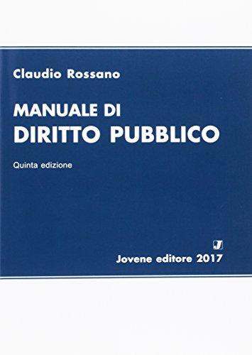 Manuale di diritto pubblico