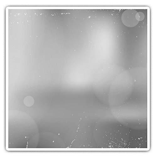 Impresionantes pegatinas cuadradas (juego de 2) 10 cm BW – Divertidas calcomanías de exposición de fotografía retro para portátiles, tabletas, equipaje, reserva de chatarras, neveras, regalo fresco #39495