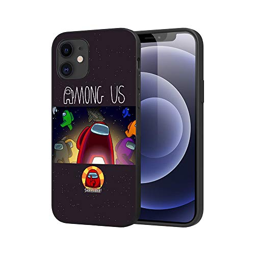 JDSWAN Among us Impreso Teléfono Caso Funda para Apple iPhone 11 Pro max Suave Silicona TPU Phone Case Cover Anti-rasguños Funda Carcasa de Telefono