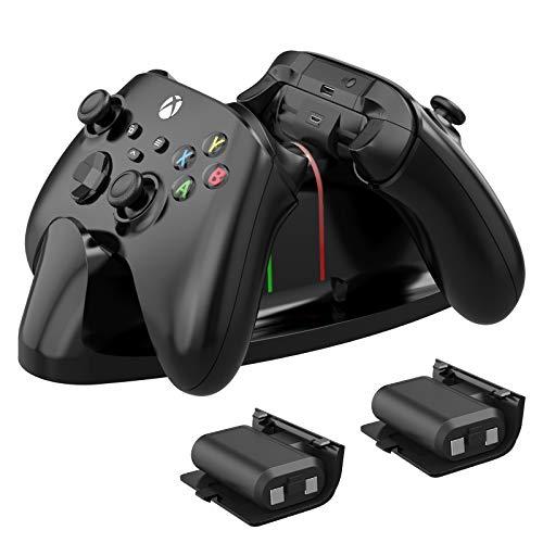 FASTSNAIL Cargador para mando Xbox Series X/S, base de carga para Xbox...