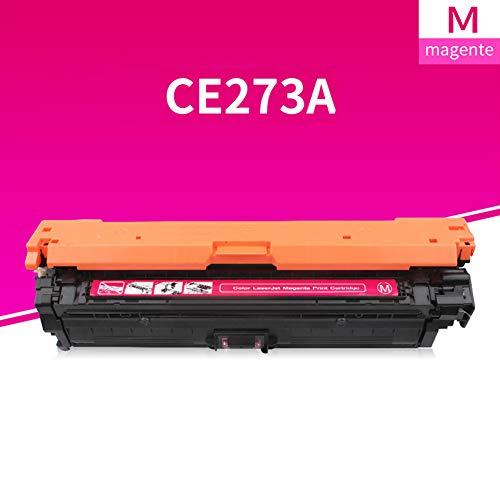 GXZC Compatible Sustitución de Color de tóner para HP CP5525, Impresora en Color M750, Negro Cian Magenta Amarillo 4 Colores Red