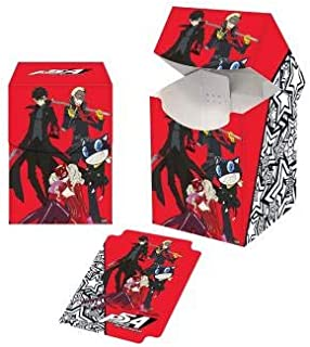 PS5 Persona 5 The Animation Phantom Thieves Ultra Pro Printed Art Magic The Gathering Card Game Printed Art Deck Box