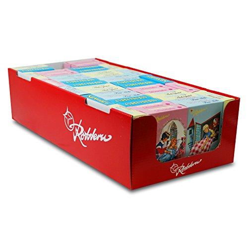 42er Pack Rotstern Chokis (42 x 50 g) Vollmilchschokolade Ostprodukt, DDR, Motive können abweichen