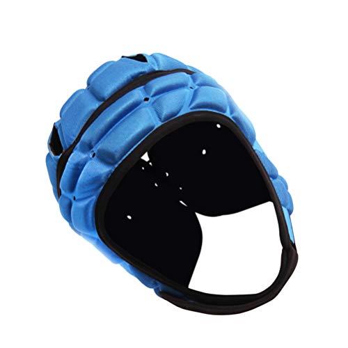 Garneck 2 Piezas de Casco de Rugby Casco de Fútbol Gorra de Scrum Bandera de Fútbol Sombrero de Protección de Cabeza para Portero Hockey Rugby Patinaje sobre Ruedas