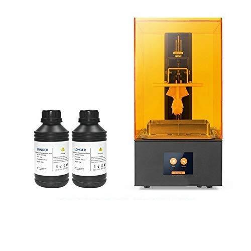 UWY Stampante 3D Orange 30 SLA con Kit Stampante 3D LCD 2K ad Alta precisione con LED a Matrice di Resina Stampa 3D Full Metal Body (Colore: Orange30 0.5L Resina) (Colore: Orange30 1l Resina)