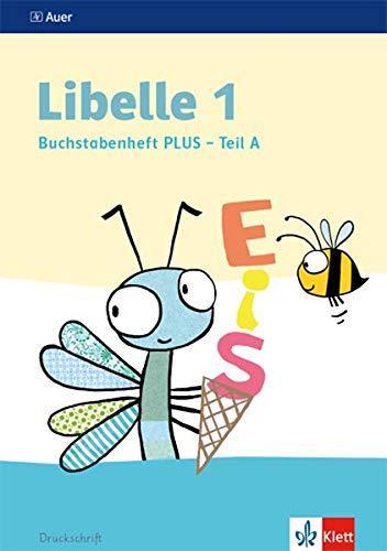 Libelle 1: Buchstabenheft PLUS, Druckschrift, 4-teilig Klasse 1 (Libelle. Ausgabe ab 2019)