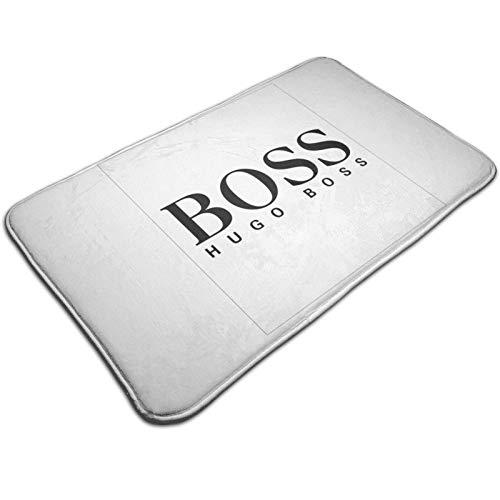 Boss, felpudo de decoración antideslizante, para interiores y exteriores, decoración del hogar, sala de estar, dormitorio, felpudos