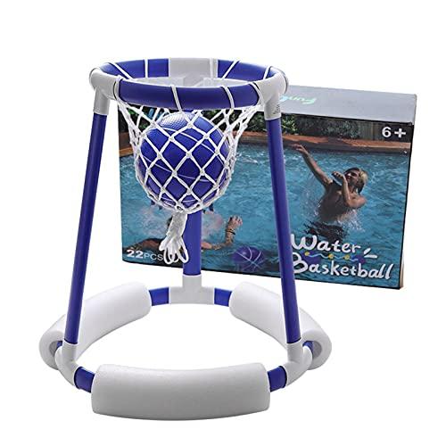 Aro De Baloncesto AcuáTico, Flotador De Piscina, Juego De Juego Inflable, Juguete para Piscina, Juguetes Flotantes para Piscina para NiiOs
