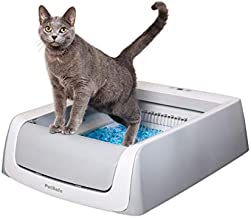 PetSafe ScoopFree Automatic Self-Cleaning Cat Litter Box – Includes Disposable Trays with Crystal Litter – 2ND Generation, Grey, One Size Fits All (PAL00-16805)