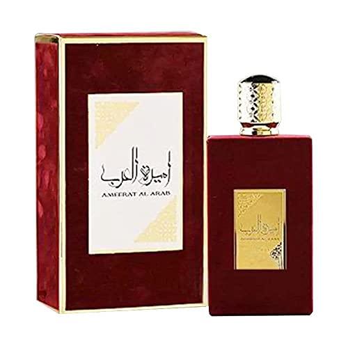 Ameerat Al Arab Edp Spray 100 ml por ASDAF, Woody, Refrescante y Classy, cítricos, bergamota, almizcle blanco, aloe vera