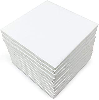 4x4 White Glossy Finish Ceramic Subway Tile Shower Walls Backsplash Made in USA (12.5SF Full Box 100PCS)